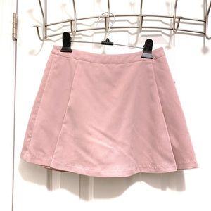 Pink Mini Skort